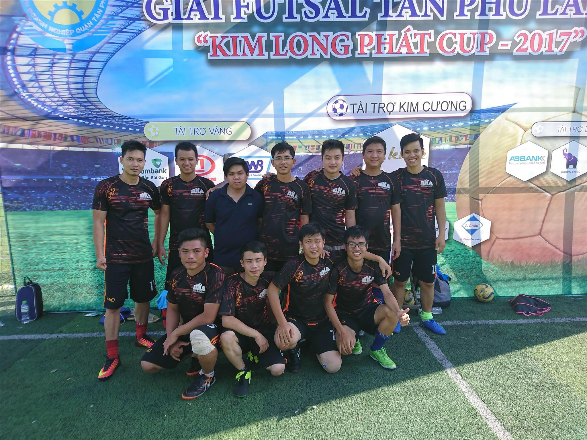 DKA Tham gia giải FUTSAL Tân Phú