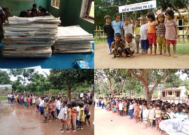 Chương trình hỗ trợ các em vùng cao Quảng Trị đến trường
